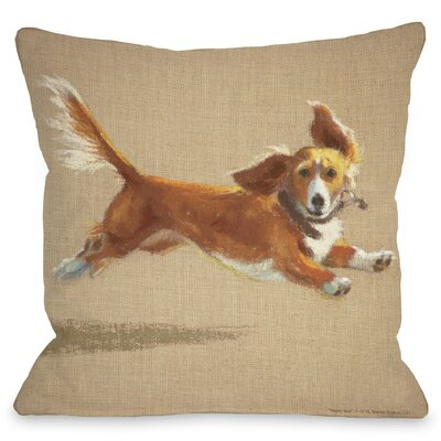 Doggy D�cor Mighty Mutt Throw Pillow