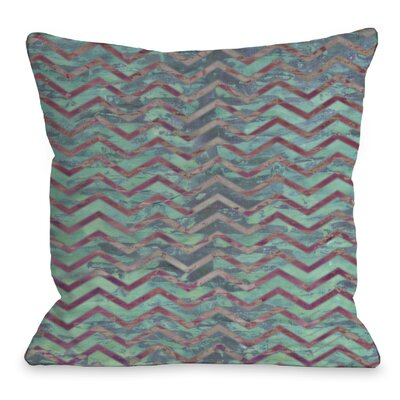Wave Chevron Throw Pillow