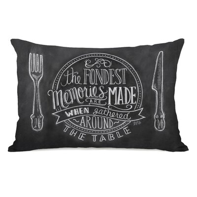 Fondest Memories Around the Table Lumbar Pillow