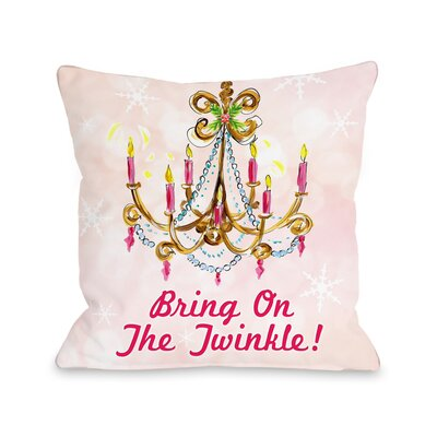 Bring on the Twinkle Throw Pillow Size: 18 x 18