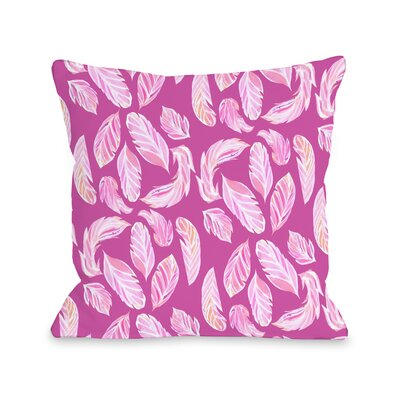 Stilettos Feathers 2 Throw Pillow Size: 18 x 18