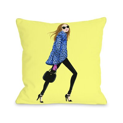 Style File 1 Throw Pillow Size: 18 x 18