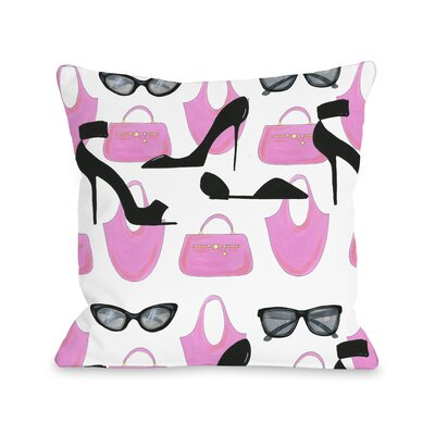 Style File 24 Throw Pillow Size: 18 x 18