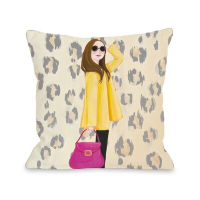 Style File 3 Throw Pillow Size: 16 x 16