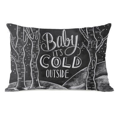 Baby, Its Cold Outside Lumbar Pillow