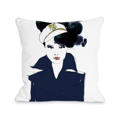 Sailor Pillow Size: 18 x 18