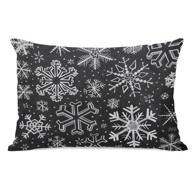 Snowflake Variety Lumbar Pillow