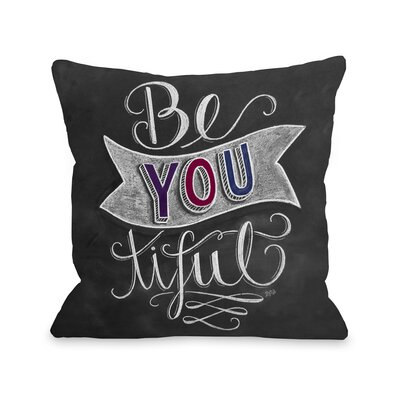 Be You-tiful Throw Pillow