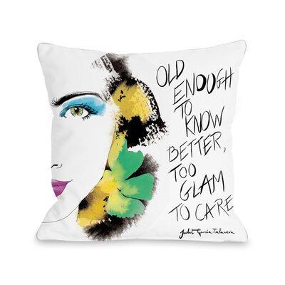 """Detail Beauty Pillow Size: 16"""" x 16"""" 72925PL16"""