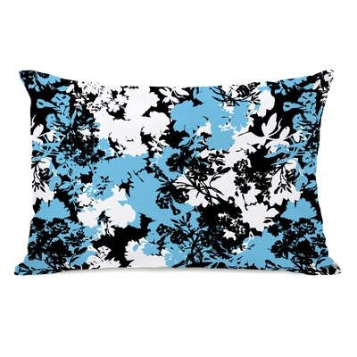 Afternoon Tea Flowers Lumbar Pillow
