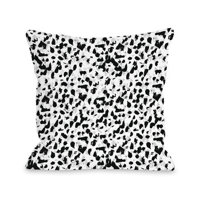 Animal Instinct Throw Pillow Size: 16 x 16