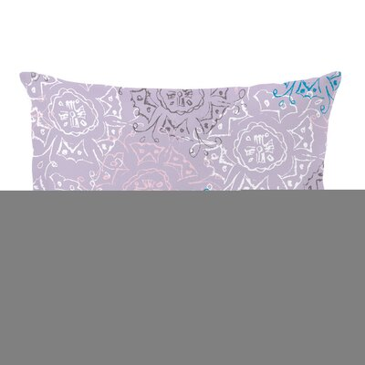 Frozen Burst Lumbar Pillow Size: 16 x 16