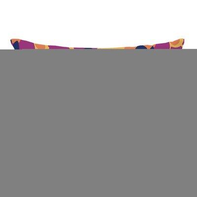 Purple Reign Floral Lumbar Pillow