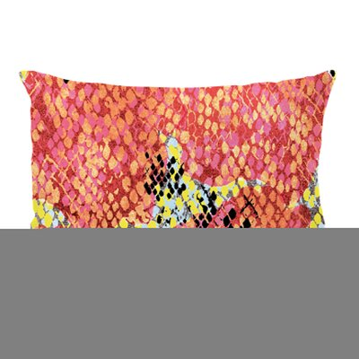Reptilian Light Colorway Lumbar Pillow