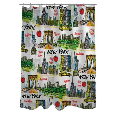 NY 2 Shower Curtain