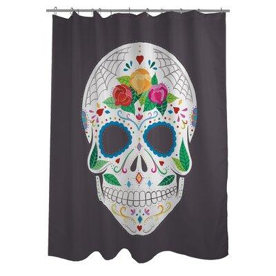 Calavera Shower Curtain