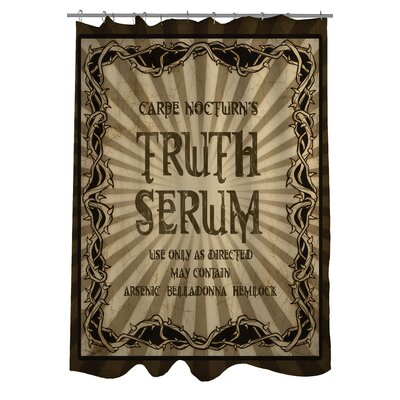 Truth Serum Shower Curtain