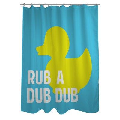 Rub A Dub Dubr Shower Curtain
