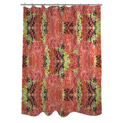Reptilian Light Shower Curtain