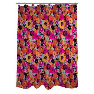 Summers Day Floral Shower Curtain