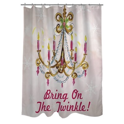 Bring On The Twinkle Shower Curtain