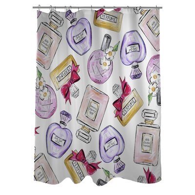 Hello Beautiful Multiple Perfumes Shower Curtain