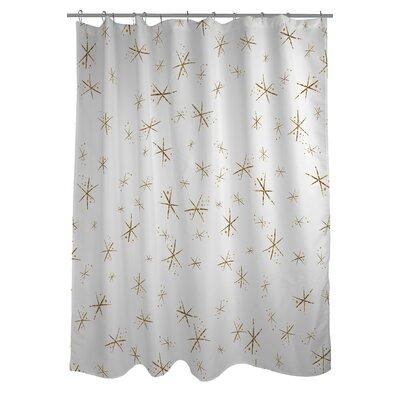Hello Beautiful Sparkles Shower Curtain