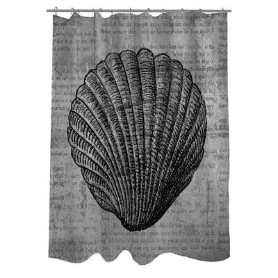 Vintage Seashell Shower Curtain