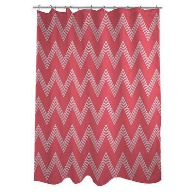 Emily Tier Chevron Shower Curtain