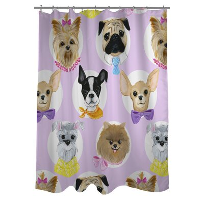 Love from NYC 10 Dogs Shower Curtain