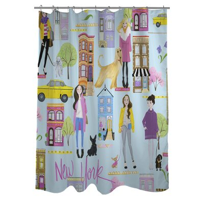 Love from NYC 19 Shower Curtain