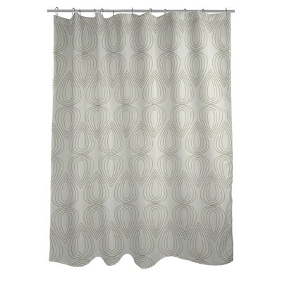 Mod Drops Geometric Shower Curtain