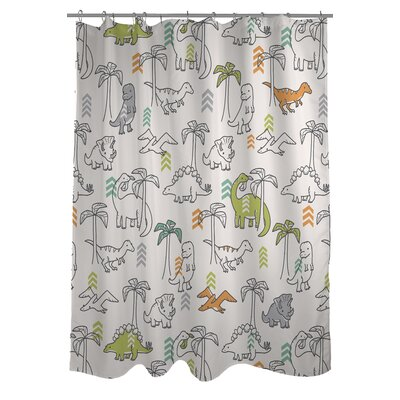 Baby Dinos Shower Curtain
