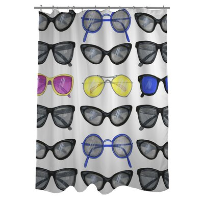 Style File 29 Sunglasses Shower Curtain