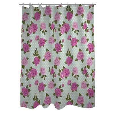 Lovely Florals Shower Curtain