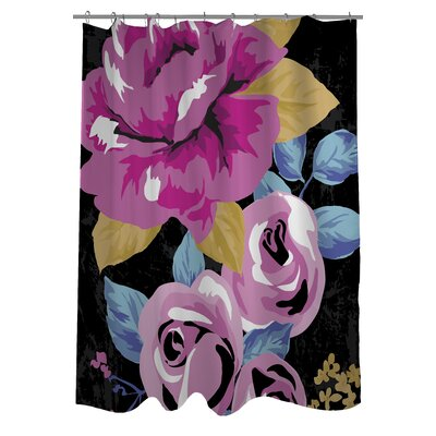 Rose Florals Shower Curtain