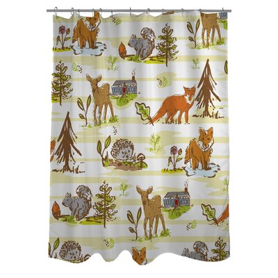 Woodland Vignettes Shower Curtain