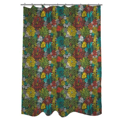 Prickly Shower Curtain