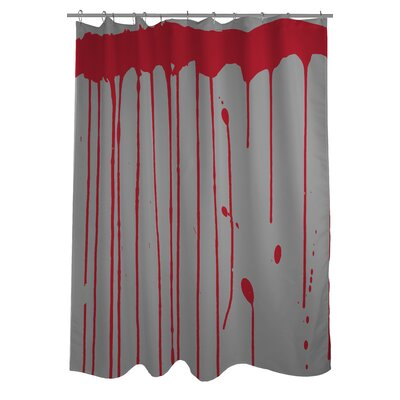 Dripping Blood Shower Curtain
