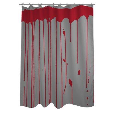 Dripping Blood Shower Curtain