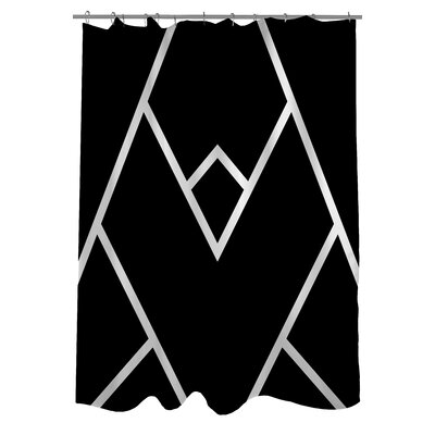 Mountain Peaks Shower Curtain