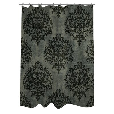 Haunted Filigree Shower Curtain Color: Dark Gray