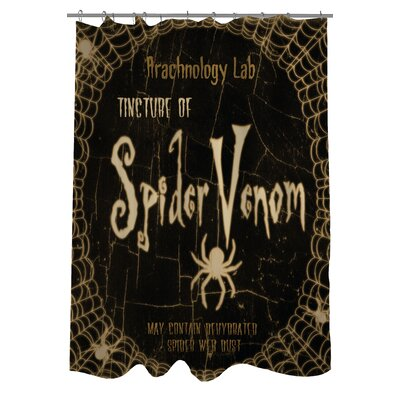 Spider Venom Shower Curtain