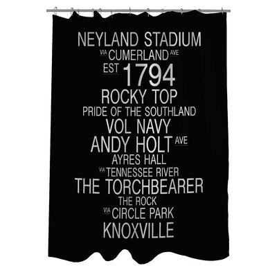 Knoxville Tennessee Landmarks Shower Curtain