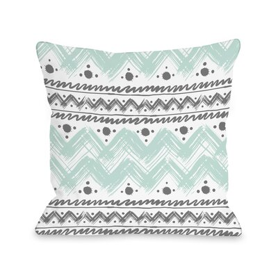 Anya Stripes and Dots Throw Pillow Size: 14 H x 20 W x 3 D