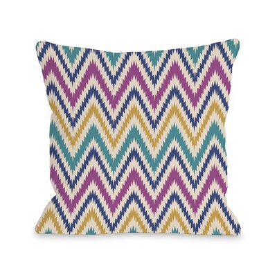 Bea Aztec Chevron Throw Pillow Size: 14 H x 20 W x 3 D