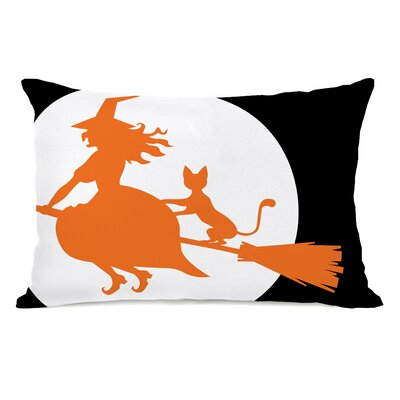 Witchs Best Friend Lumbar Pillow