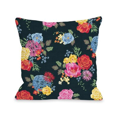 Botanica 306 Throw Pillow Size: 18 H x 18 W x 3 D