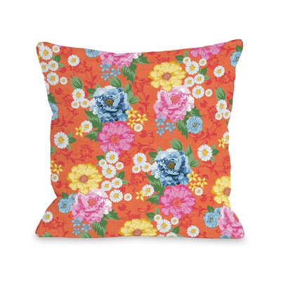 Botanica 307 Throw Pillow Size: 18 H x 18 W x 3 D