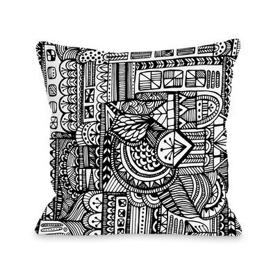 Laurel Throw Pillow Size: 16 H x 16 W x 3 D